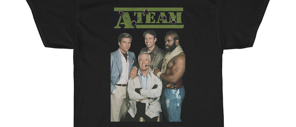 The A-Team Unisex Heavy Cotton Tee