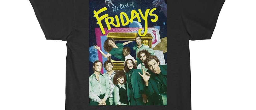 FRIDAYS TV Show Early 1980s Men's Short Sleeve Tee