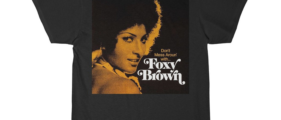 FOXY BROWN Men's Short Sleeve Tee