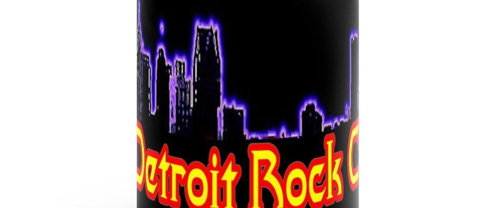 Detroit Rock City.org  1 Black mug 11oz