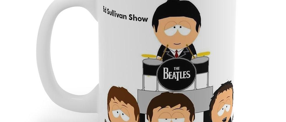 South Park Beatles Ed Sullivan Mug 11oz