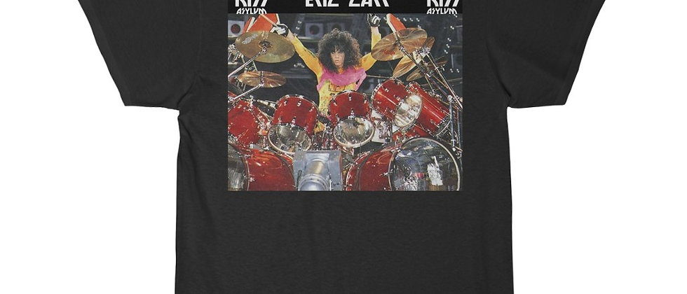 KISS, PAUL STANLEY, ERIC CARR, T SHIRT, GENE SIMMONS, ACE FREHLEY, PETER CRISS, END OF THE ROAD