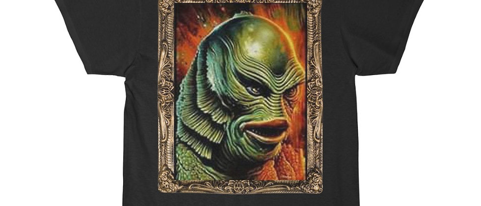 CREATURE of the Black Lagoon Portrait of Evil Men's Short Sleeve Tee