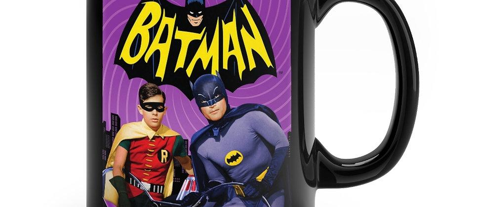 Batman And Robin Black mug 11oz
