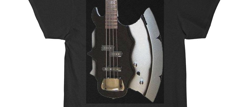 KISS Gene Simmons AXE Bass Guitar Short Sleeve Tee T Shirt