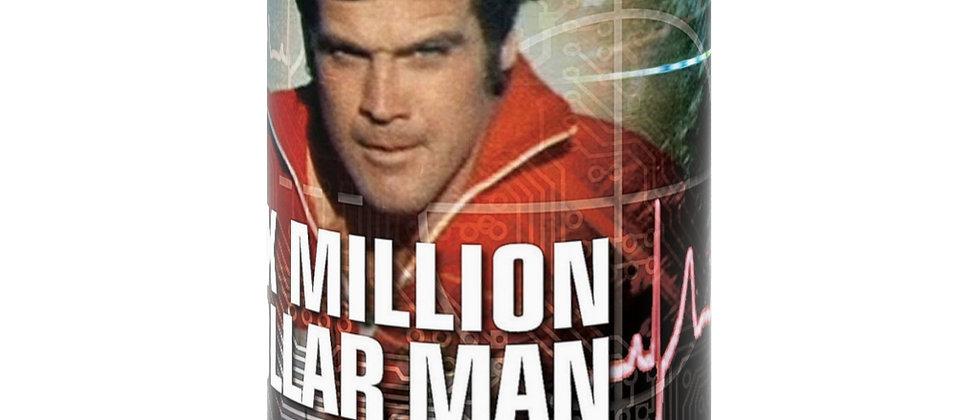 Six Million Dollar Man  Black Mug 15oz