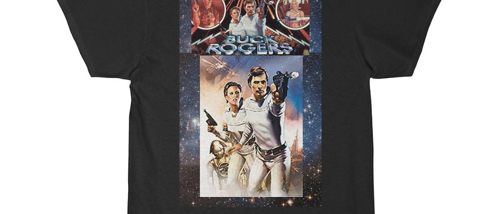 BUCK ROGERS In The 25th Century Buck and Wilma 2 Short Sleeve Tee