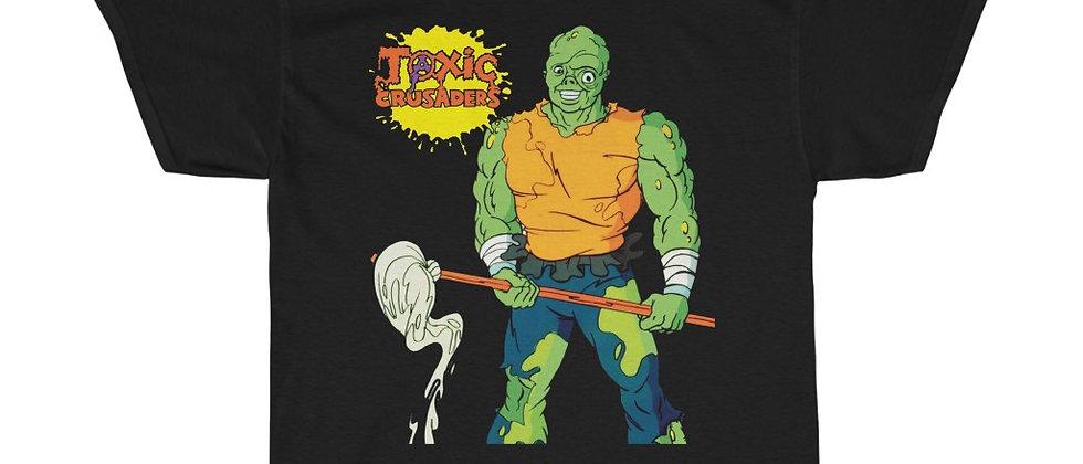 Toxie and The Toxic Crusaders 80s cartoon Troma Unisex Heavy Cotton Tee