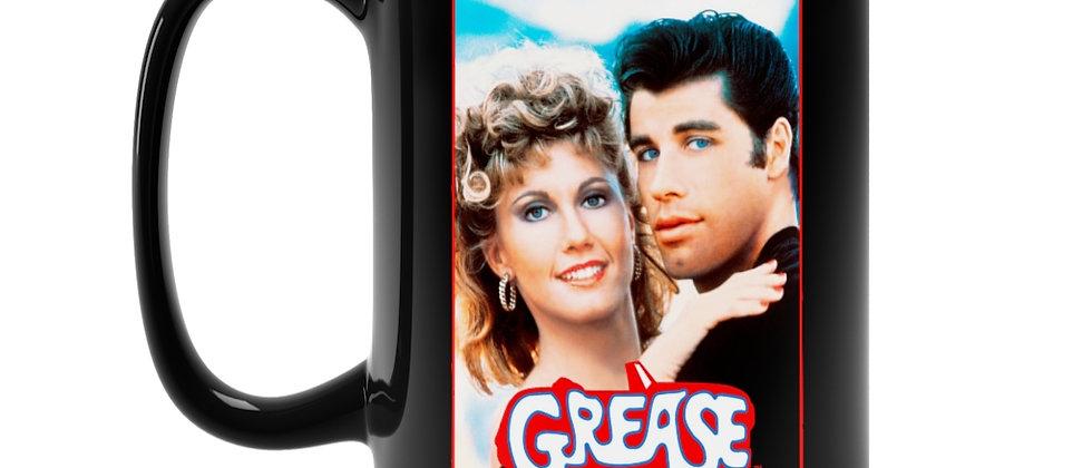 Grease the Classic movie Black Mug 15oz