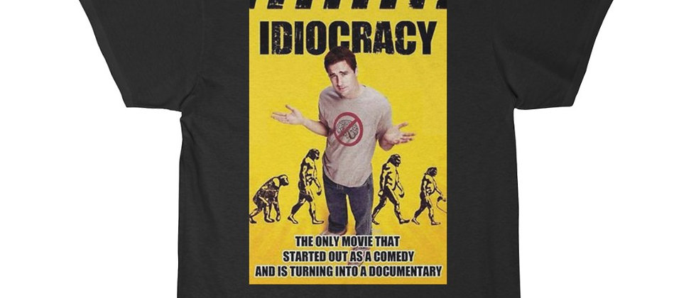 IDIOCRACY Men's Short Sleeve Tee