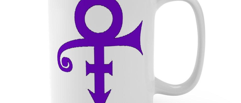 Prince Love Sign Symbol Mug 15oz