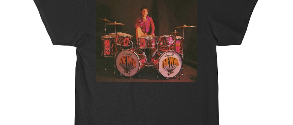 Keith Moon of the Who Short Sleeve Tee