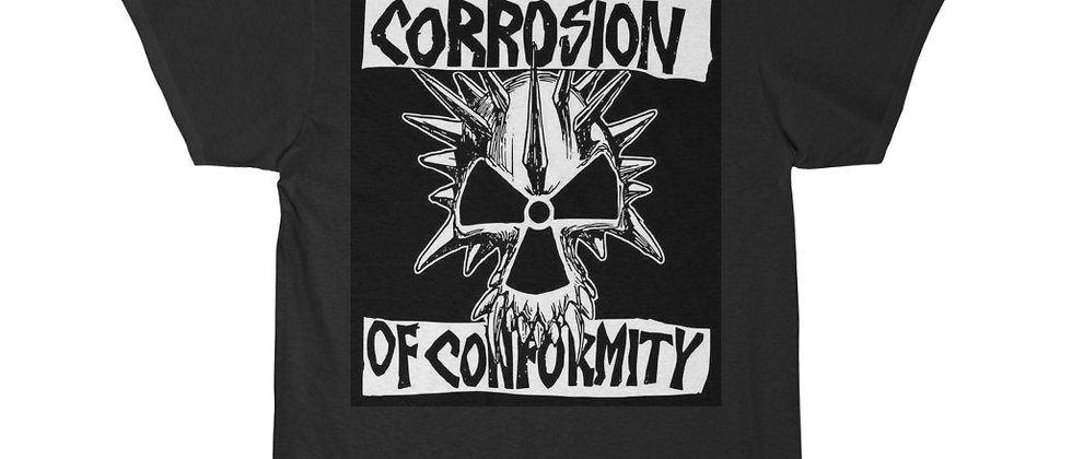 Corrosion Of Conformity black n white Short Sleeve Tee