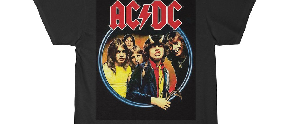 AC DC Highway to Hell Men's Short Sleeve Tee
