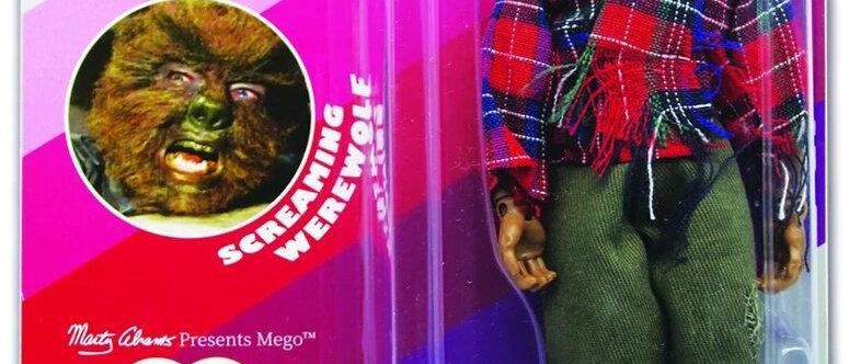 """MEGO Sreaming Werewolf 8"""" Action Figure"""