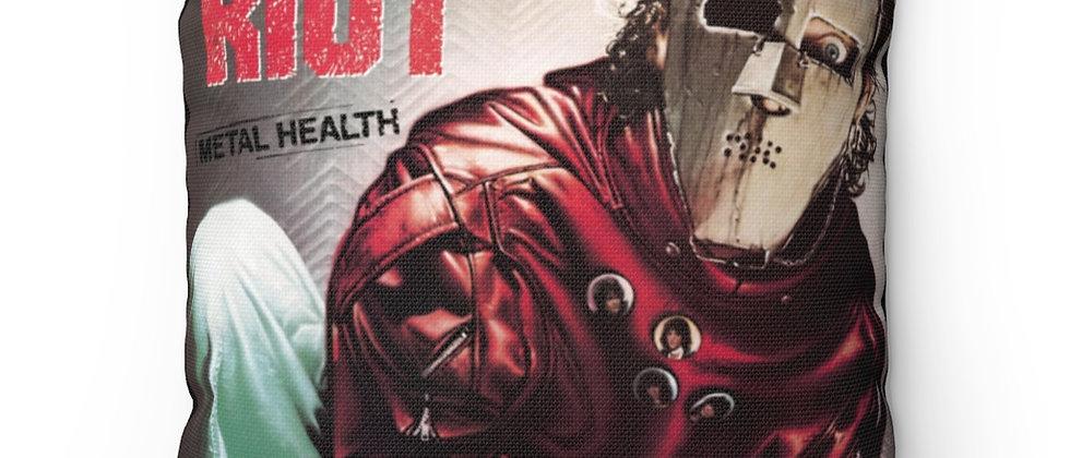 QUIET RIOT Metal Health  RIP Frankie Pillow Spun Polyester Square Pillow gift