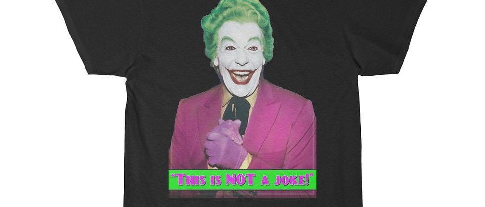 BATMAN 1966 TV Show The Joker Headshot Short Sleeve Tee