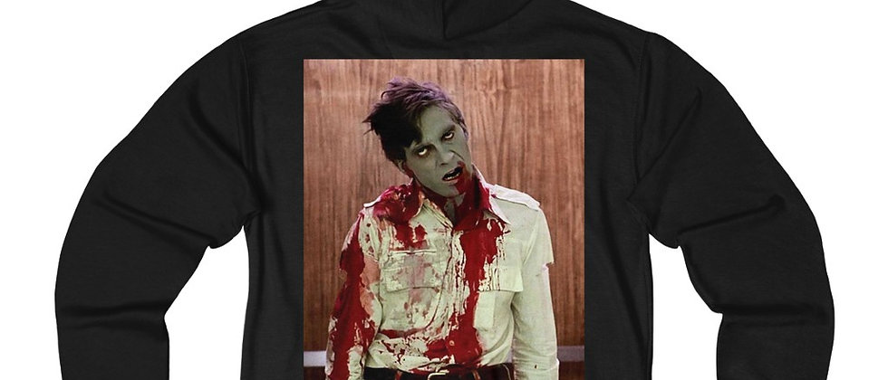 Dawn of the Dead Flyboy  Unisex French Terry Zip Hoodie