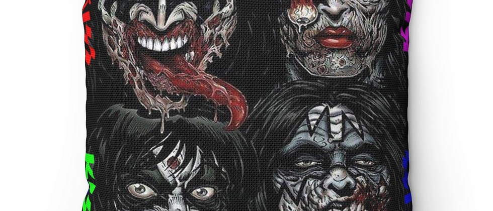 KISS, PAUL STANLEY, ZOMBIE, PILLOW, GENE SIMMONS, ACE FREHLEY, PETER CRISS, END OF THE ROAD