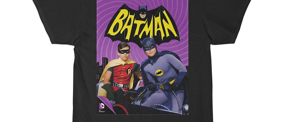 BATMAN 1966 Batman and Robin Men's Short Sleeve Tee