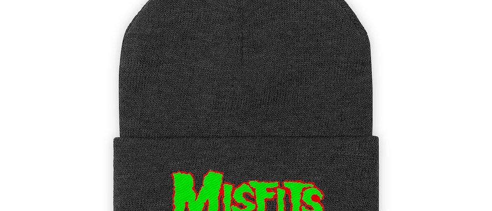MISFITS Logo 4 Knit Beanie