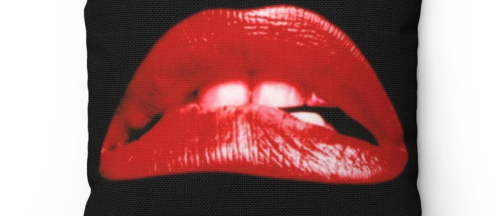 PILLOW, LIPS, ROCKY HORROR, TIM CURRY, THE ROCKY HORROR PICTURE SHOW