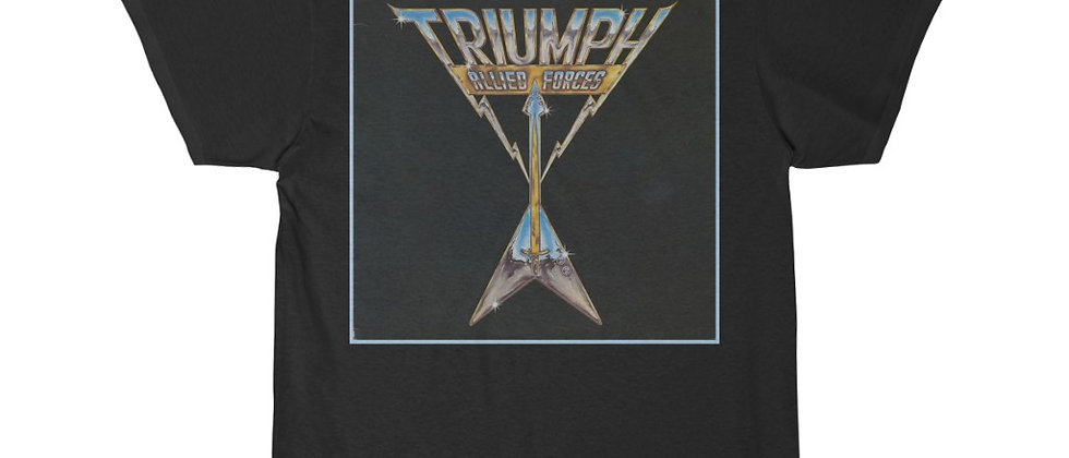 TRIUMPH, ALLIED FORCES, HEAVY METAL, RICK EMMIT