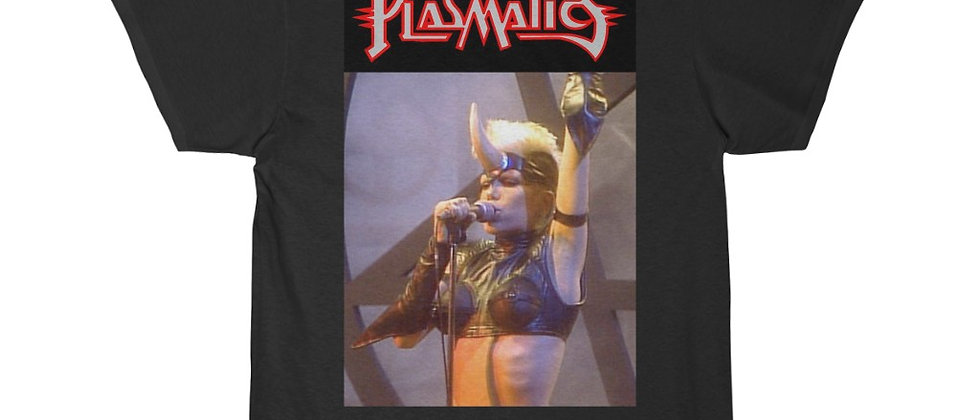 PLASMATICS WENDY O Williams Metal Priestess Men's Short Sleeve Tee