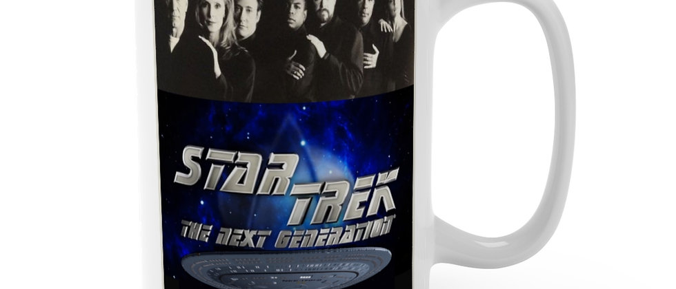 Star Trek TNG Cast Mug 15oz