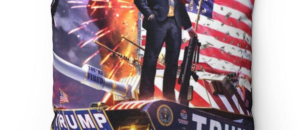 President Donald J TRUMP 2020 Spun Polyester Square Pillow gift