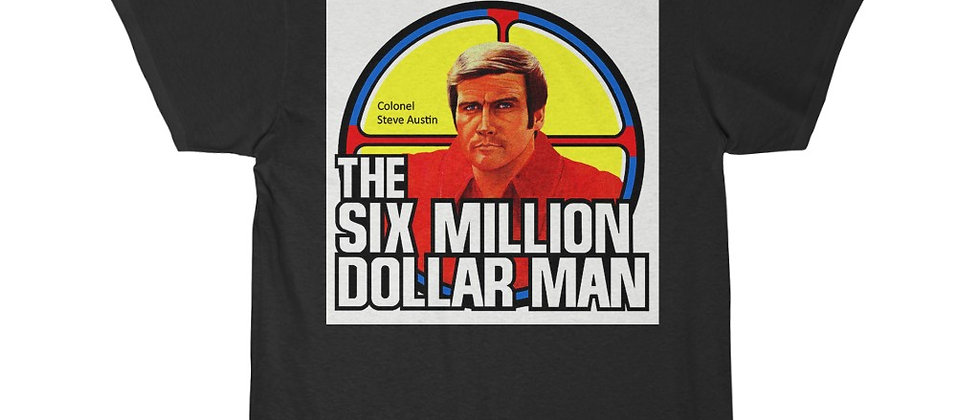 The Six Million Dollar Man Col Steve Austin Short Sleeve Tee