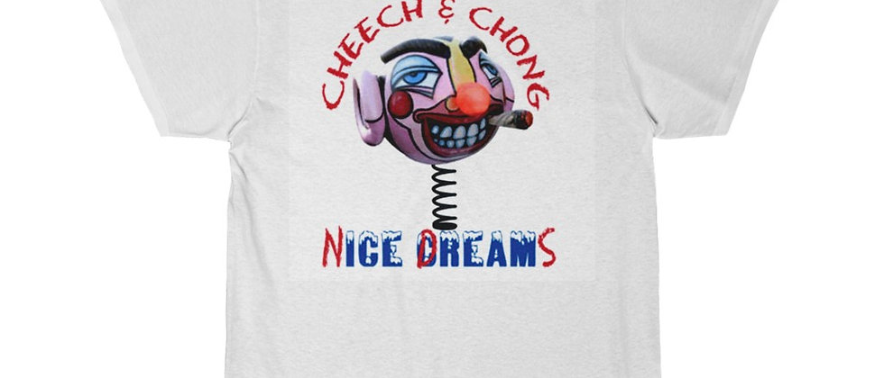 Cheech and Chong Nice Dreams Pothead Men's Short Sleeve Tee
