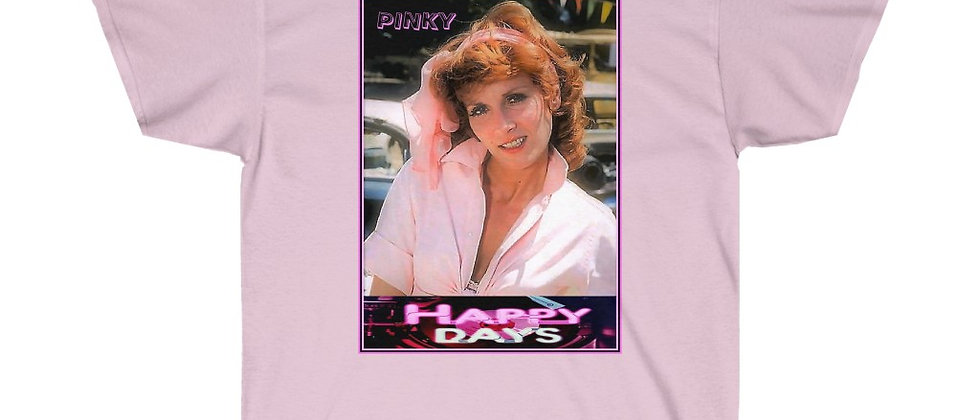 Happy Days Pinky Tuscadero  Pink Unisex Ultra Cotton Tee