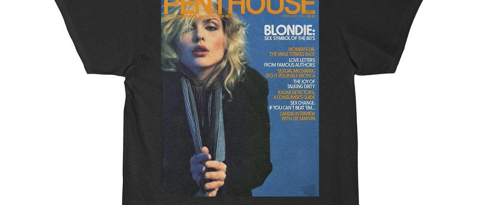 Penthouse Magazine Debbie Harry of Blondie Short Sleeve Tee