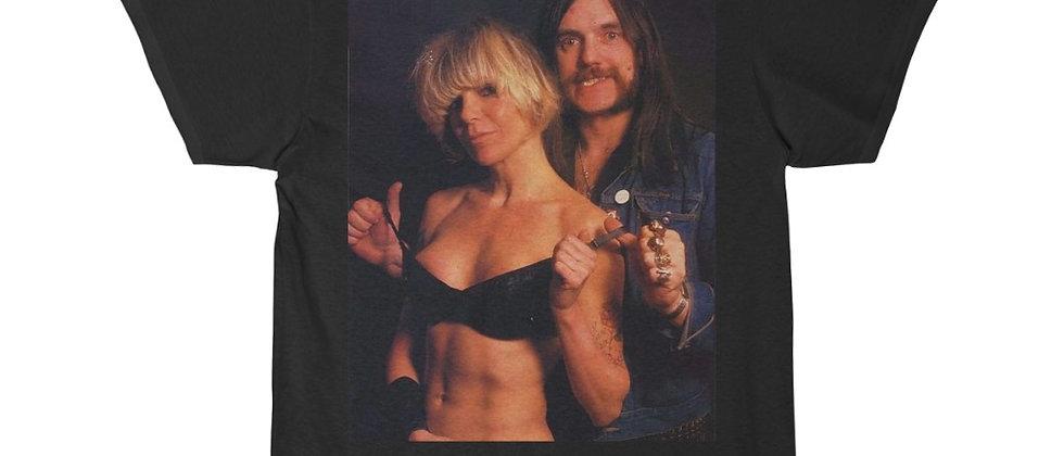 Plasmatics WENDY and LEMMY Of Motorhead 2 Men's Short Sleeve Tee