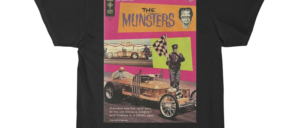 MUNSTERS DRAGULA Short Sleeve Tee