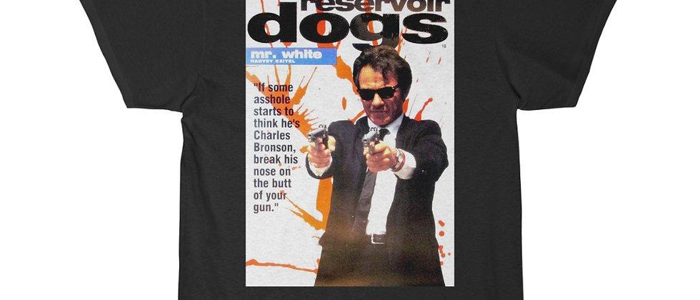 Reservoir Dogs Mr. White Movie Poster  Short Sleeve Tee