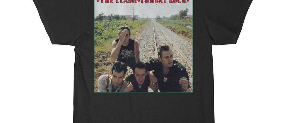 The CLASH Combat Rock Short Sleeve Tee