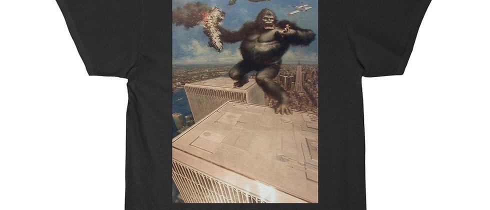 KING KONG On Top Of The WTC  Short Sleeve Tee