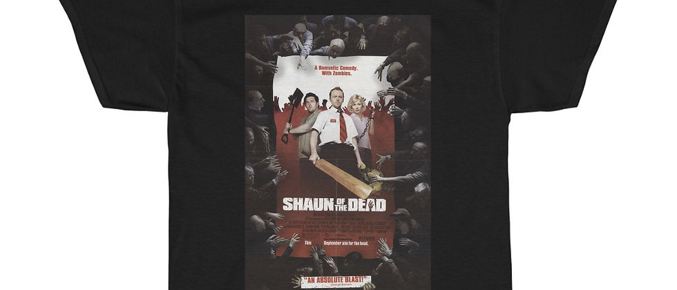 Shaun Of The Dead Poster Unisex Heavy Cotton Tee