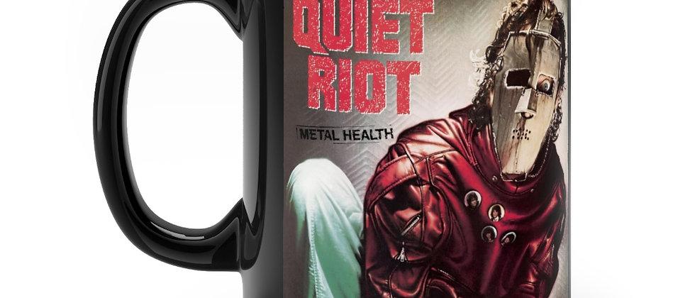 QUIET RIOT Metal Health Bang Your Head Black mug 11oz