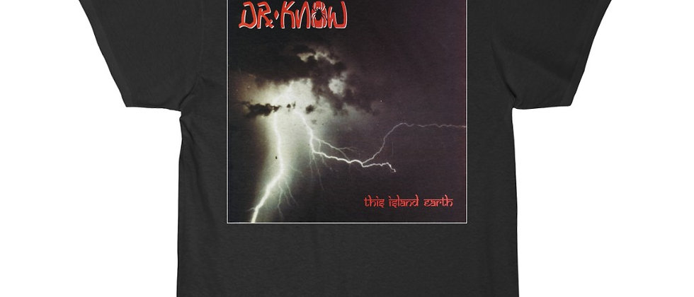 Dr Know This Island Earth cover Special 2 sidedShort Sleeve Tee