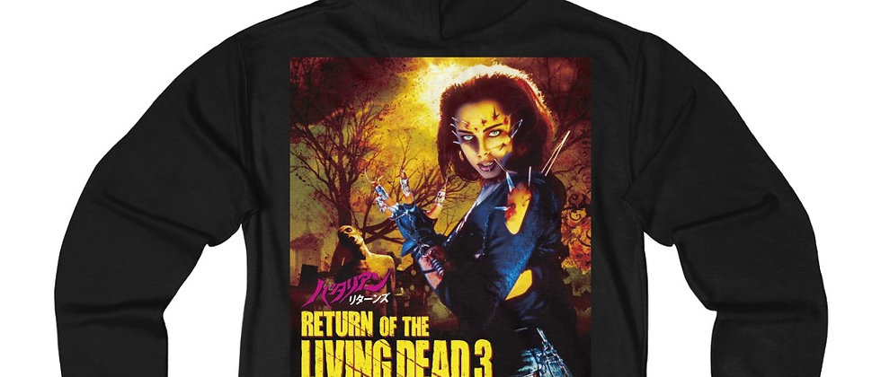Return of the Living Dead 3 Unisex French Terry Zip Hoodie