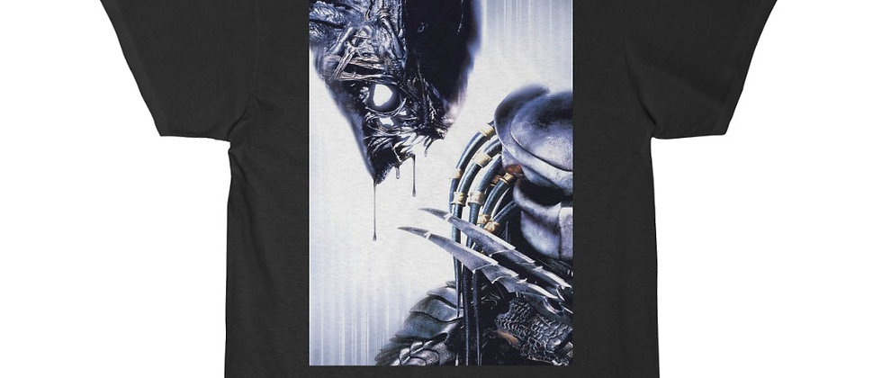 Alien Creature vs A Predator Short Sleeve Tee