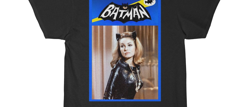 BAT MAN 1966 Catwoman Men's Short Sleeve Tee