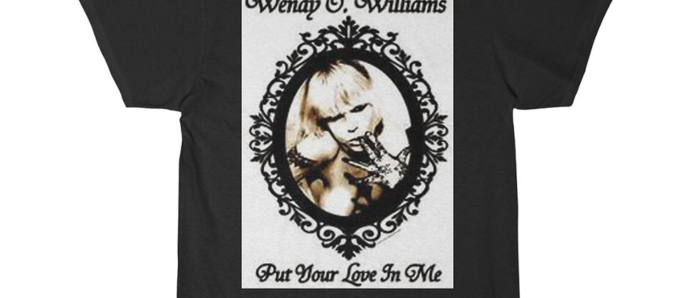 PLASMATICS WENDY O Williams Put Your love in Me Men's Short Sleeve Tee