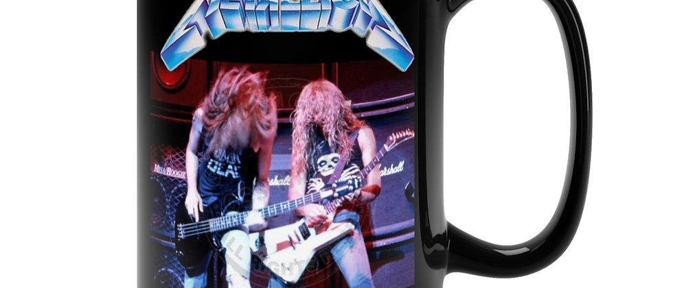 Metallica James and Cliff  Black Mug 15oz