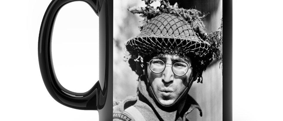 John Lennon How I Won The War Black mug 11oz