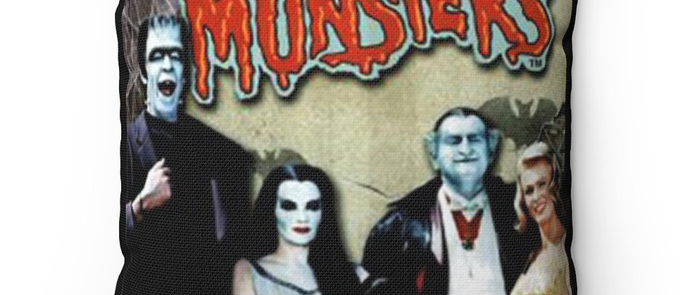 The Munsters Pillow Spun Polyester Square Pillow gift