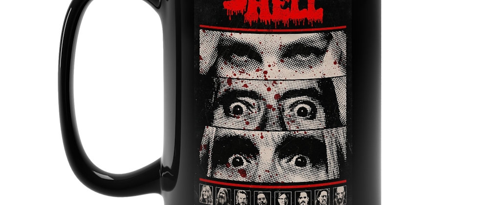Rob ZOMBIE  3 From Hell Poster  Black Mug 15oz